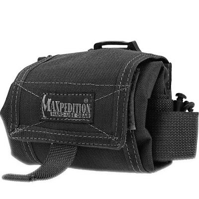 Maxpedition Mega Rollypoly Folding Unisex Pouch Dump - Black One Size