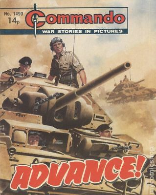 Commando War Stories in Pictures (D. C. Thomson Digest) #1490 1981 VG Low Grade