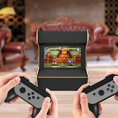 DIY Hardwood Nostalgia Playing Game Arcade Cabinet Stand For Nintendo Switch New