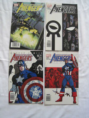 "AVENGERS issue 472-475 (57-60), ""World Tour"" :COMPLETE 4 ISSUE STORY.Marvel.2002"