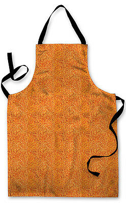 Splashproof Novelty Apron Baked Beans Cooking Painting Art Kitchen BBQ Gift