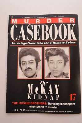 Murder Casebook Cavendish Magazine Issue 17 The McKay Kidnap The Hosein Brothers