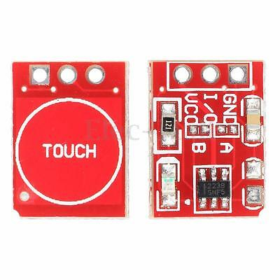 2 Pcs TTP223 Capacitive Touch Switch Button Self-Lock Module DIY For Arduino l8