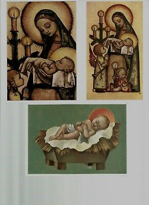 Hummel♡♡♡♡♡♡ Rare Madonna and child detail and rare Christ child  Postcards