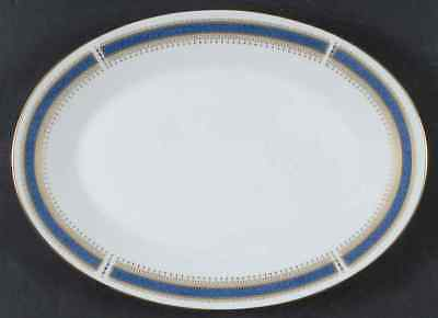 "Noritake BLUE DAWN 12"" Oval Serving Platter 420005"