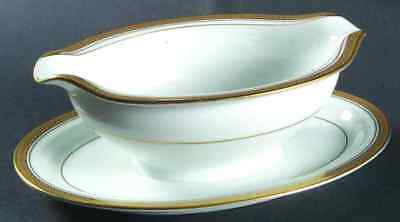 Noritake POMPEII Gravy Boat & Attached Underplate 459571