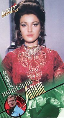 Inkworks Women Of James Bond Widevision Base Card #40 Solitaire