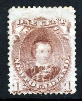 NEWFOUNDLAND CANADA Queen Victoria 1871 1c. Brown-Purple Type II SG 35 VFU