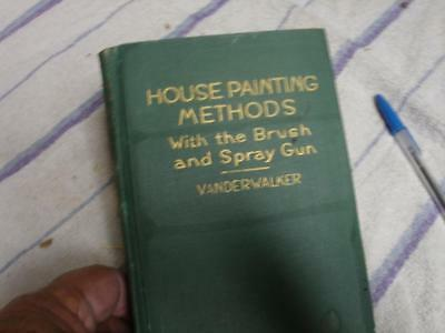House Painting Methods with the Brush and spray gun