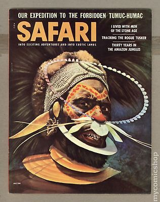 Safari Magazine #Vol. 3 #2 1956 VG+ 4.5