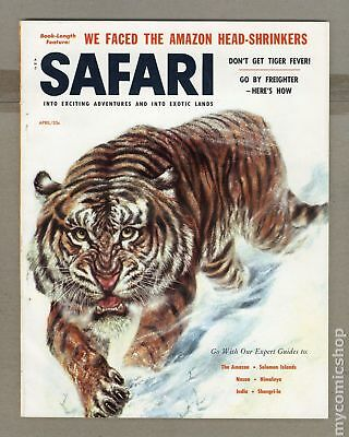 Safari Magazine #Vol. 4 #4 1957 FN 6.0