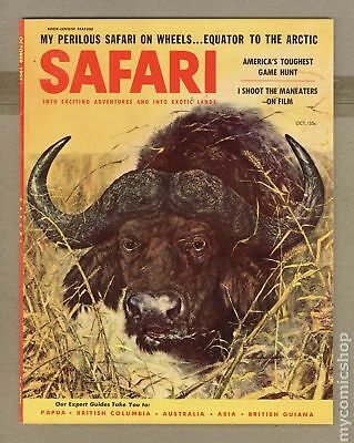 Safari Magazine #Vol. 5 #1 1957 VG/FN 5.0