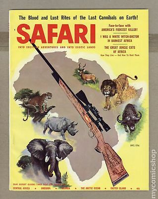 Safari Magazine #Vol. 5 #2 1957 VG/FN 5.0