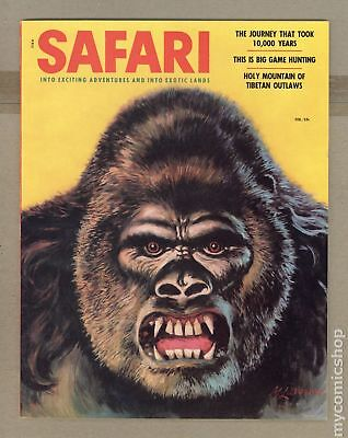 Safari Magazine #Vol. 2 #6 1956 FN/VF 7.0