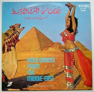"LP HASSAN ABU SEOUD ""Belly Dances from the Middle East"" 1974 HEAR [ex]"