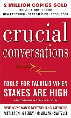 Crucial Conversations: Tools for Talking When Stakes Are High, ... 9780071771320