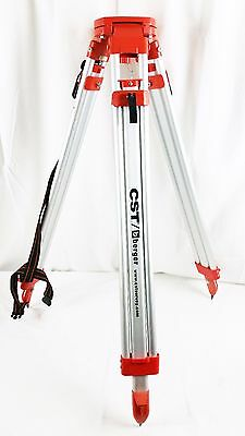 CST Chicago Steel Tape Co. Aluminum Adjustable Tripod for Surveying Equipment