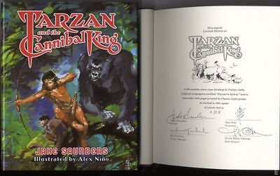 Tarzan and the Cannibal King HC Deluxe Edition 1SET 2017 NM