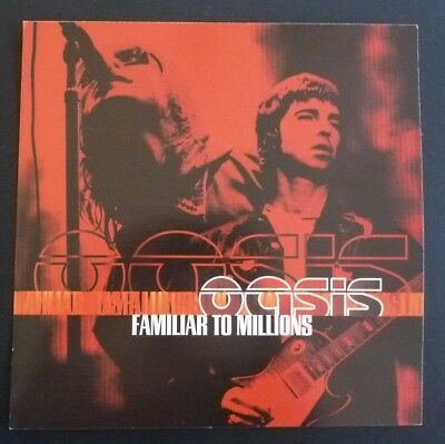OASIS Familiar To Millons LP Poster Photo Double Sided Record Flat 12x12 RARE