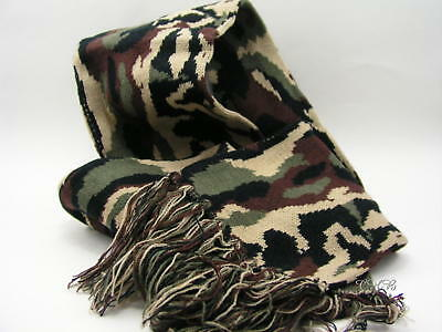 Camo Scarf Winter Woodland Camouflage