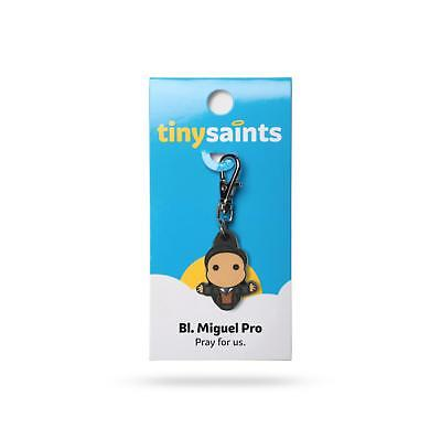 Tiny Saints Blessed Miguel Pro CHARM - Paracord, Bracelets, Backpacks, Gifts NEW
