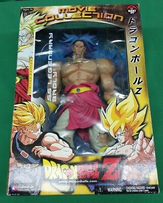 """Dragon Ball Z SS Legendary """"Blue Hair"""" Broly super rare figure Movie Collection"""
