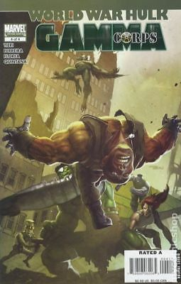 World War Hulk Gamma Corps #4 2008 VG Stock Image Low Grade