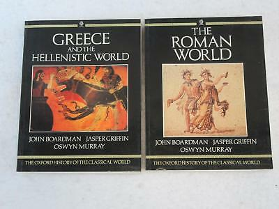 Lot OXFORD HISTORY OF THE CLASSICAL WORLD Greece & the Hellenistic & Roman World