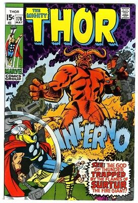 Thor #176 (1970) VF+ Marvel Comics