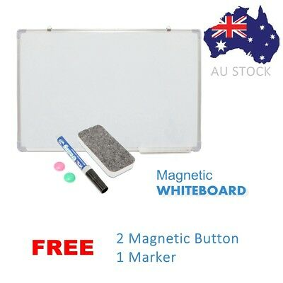 New Magnetic Board Portable White board Commercial Quality 90 x 60cm Home Office