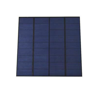 visiPower 9V 3W Solar Panel Cell 330mA Mini Solar Panel For Charging DC Battery
