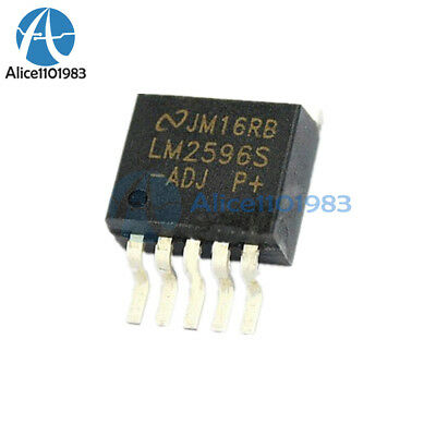 10 x LM2596S-ADJ LM2596S LM2596 TO263-5 SIMPLE SWITCHER Power Converter