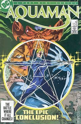Aquaman (1st Limited Series) #4 1986 FN Stock Image