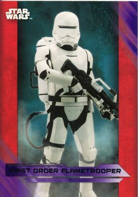 Star Wars JTTFA Green Parallel Base Card #104 BB-8 peeks out