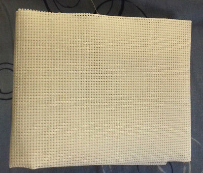 A Piece of Brown Tapestry Double Canvas 10 holes to inch.22 inches by 17 inches