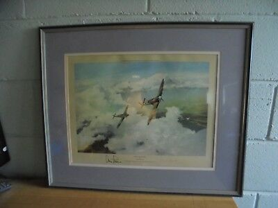 Robert Taylor Duel Of Eagles Signed By Douglas Bader And Adolf Galland
