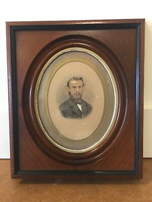 """Vintage Victorian Antique Wood Picture Frame Shadow Box Style 14"""" X 12"""" Outside"""
