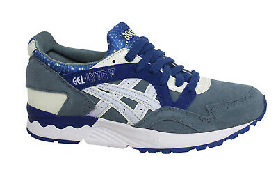 Asics Gel Lyte Unisexe V Taille Chaussures Baskets Blanche Blanc ARj54q3L