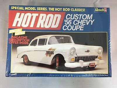 """Revell """"HOT ROD"""" 1/25 scale Custom '56 Chevy Coupe"""