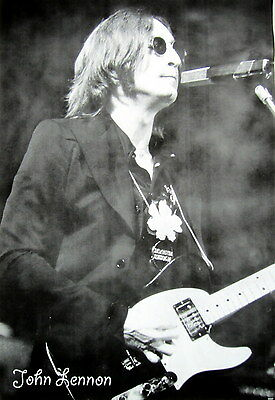 JOHN LENNON PLAYING GUITAR IN CONCERT POSTER FROM ASIA