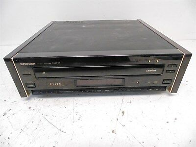 E) Vintage Pioneer Elite CLD-95 CD CDV LD Player Made In Japan; Tested - Works