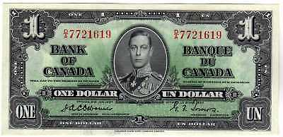 BC-21a $1 1937 BANK OF CANADA OSBORNE/TOWERS GEM UNCIRCULATED