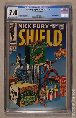 Nick Fury Agent of SHIELD (1st Series) #1 1968 CGC 7.0 1350193009
