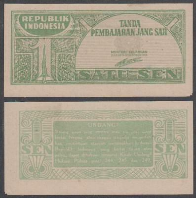 1945 Republik Indonesia 1 Sen (AU)