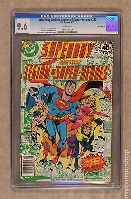 Superboy (1st Series DC) #250 1979 CGC 9.6 Mile High II 0931198029