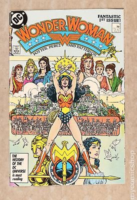 Wonder Woman (2nd Series) 1A 1987 NM- 9.2