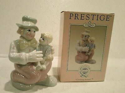 Porcelain Clown Figurine – Prestige Collector's Club - NIB