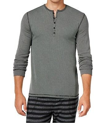 Kenneth Cole Reaction NEW Gray Mens Size Large L Nightshirt Sleepwear $39 #319