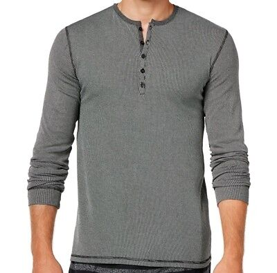 Kenneth Cole Reaction NEW Gray Mens Size Large L Nightshirt Sleepwear $39 #035