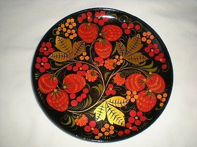 Russian Wooden Decorative Plate